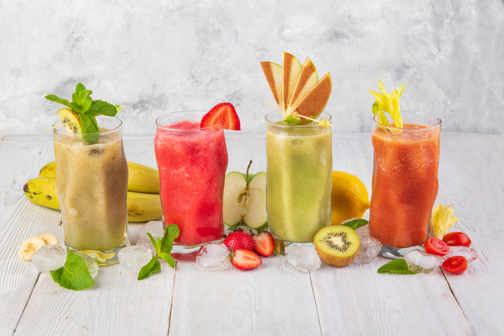 Best fruit and juices for weight gain